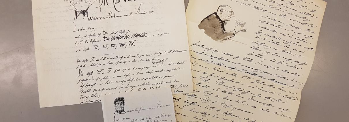 Briefe aus dem Nachlass Fritz Fischers. In Copyright.