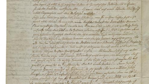 E.T.A. Hoffmann: Brief an Carl Friedrich Kunz. Dresden 08.09.1813. Autograph. Staatsbibliothek Bamberg Sign. Msc.Misc.70/51/2. CC BY-NC-SA 4.0