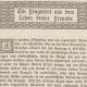Aus E.T.A. Hoffmann: Ein Fragment aus dem Leben dreier Freunde, in ders.: Menschen und Mächte. Ausgewählte Erzählungen. Ebenhausen-München: Wilhelm Langewiesche-Brandt 1916. SBB-PK Sign. Yc 7692-6.
