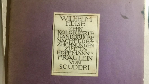 Wilhelm Heise: Kolorierte Handdrucke