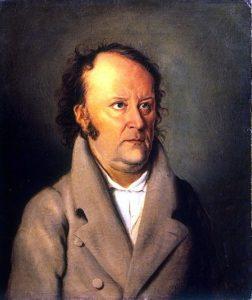Friedrich Meier: Bildnis Jean Paul, 1810, public domain