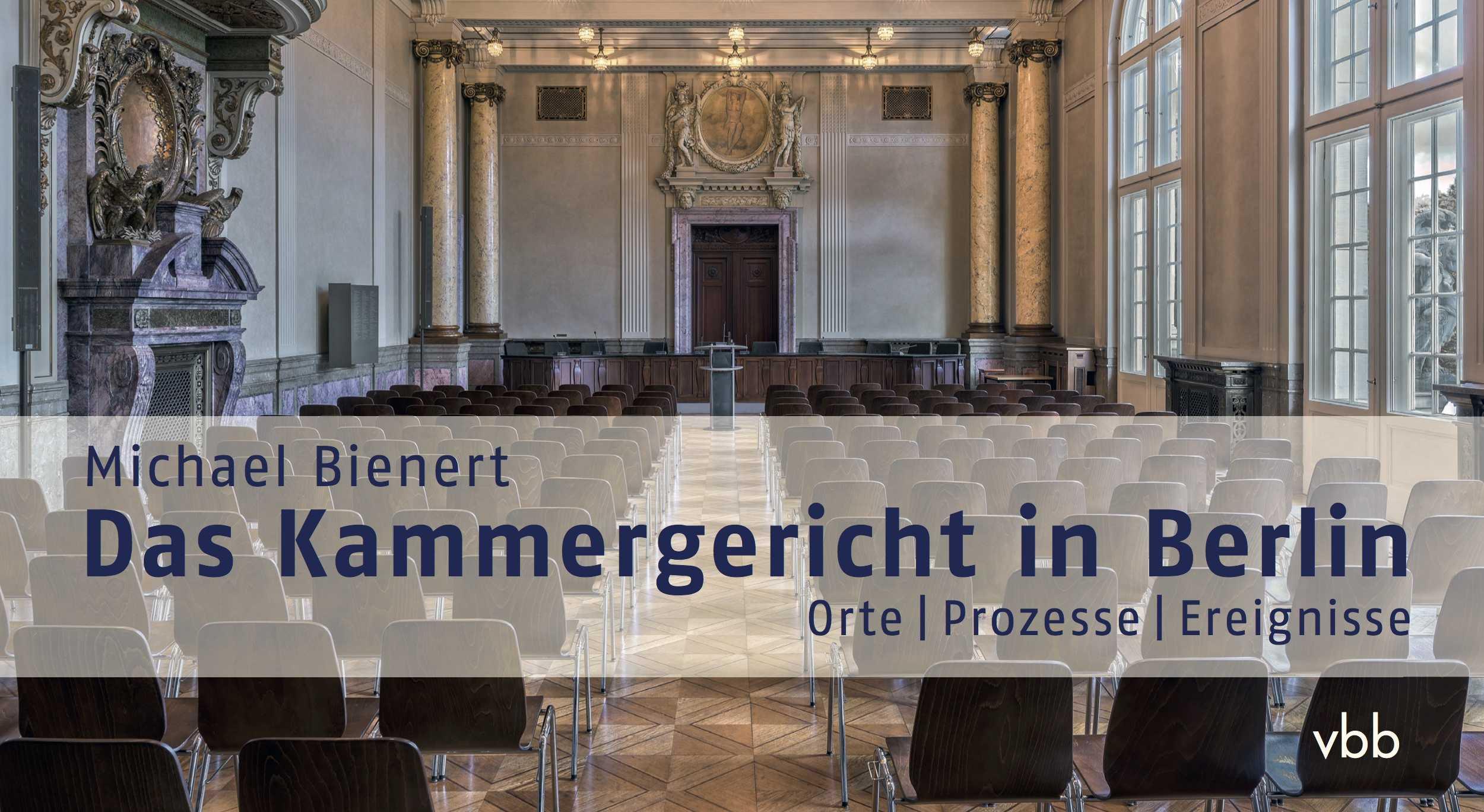 550 Jahre Kammergericht Buchvorstellung Am 2611 In Berlin
