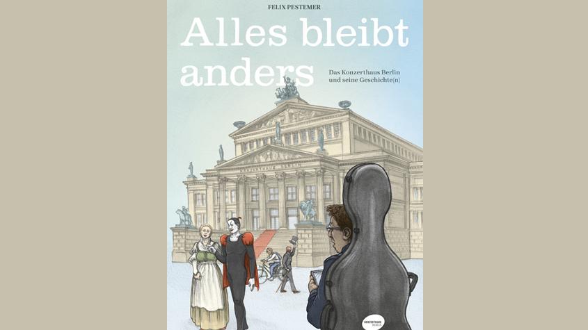 Felix Pestemer: Alles bleibt anders. Berlin: avant 2021. Copyright: Felix Pestemer / avant Verlag.