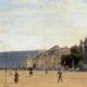 Eduard Gaertner: Blick von der Straße unter den Linden zum Königlichen Schloss, vor 1832