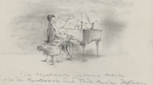 Wolfgang Schaukal: Kreisler am Klavier © In Copyright