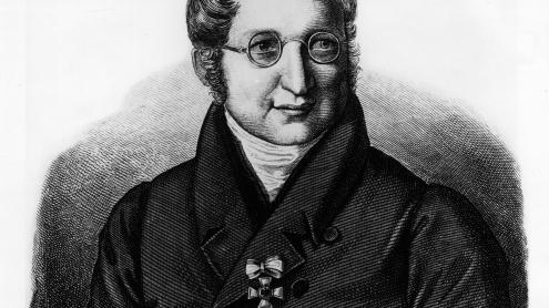 Julius Eduard Hitzig, Stahlstich von Joseph Leudner, nach einem Gemälde von Franz Krüger. Copyright: bpk