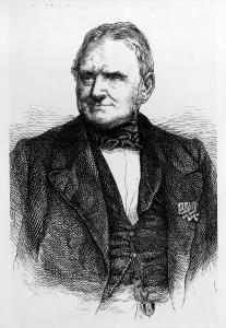 Carl Friedrich Wilhelm Duncker. Holzstich (1861). Copyright: bpk