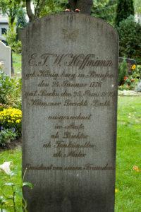 Grabstein E.T.A. Hoffmanns