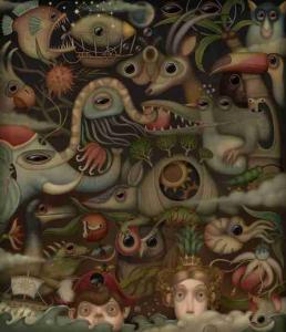 """Bulgarische Ausgabe von """"das fremde Kind"""", illustriert von Katina Vasileva Peeva"""